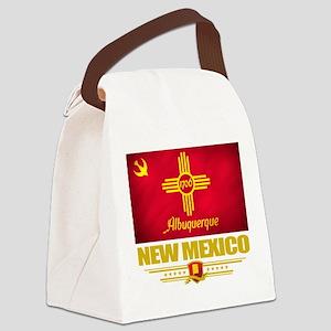 Albuquerque (Flag 10) Canvas Lunch Bag
