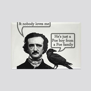 Poe Boy II Rectangle Magnet