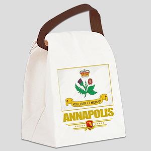Annapolis (Flag 10) Canvas Lunch Bag