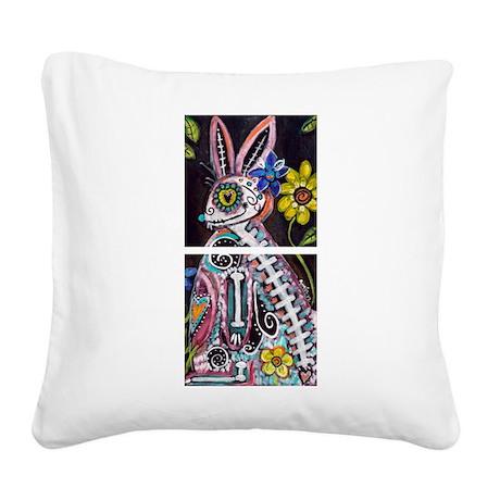 Conejita Square Canvas Pillow