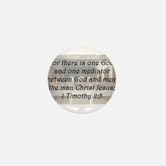 1 Timothy 2:5 Mini Button