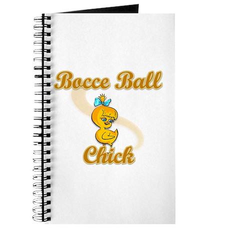 Bocce Ball Chick #2 Journal