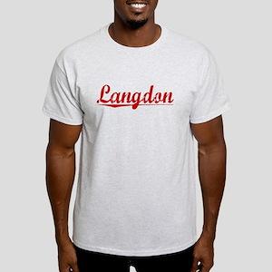 Langdon, Vintage Red Light T-Shirt