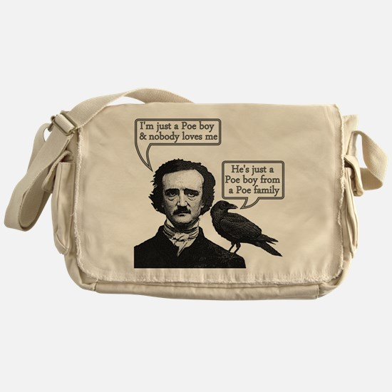 Poe Boy Messenger Bag