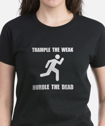 Trample Hurdle Women's Dark T-Shirt