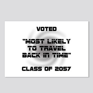 Voted Time Travel Postcards (Package of 8)