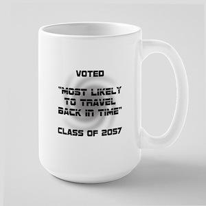 Voted Time Travel Large Mug