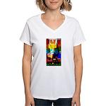 SA5K Adelaide Women's V-Neck T-Shirt