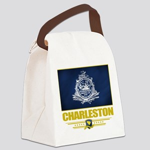 Charleston (Flag 10) Canvas Lunch Bag