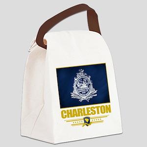 Charleston (Flag 10) Canvas Lunch Bag