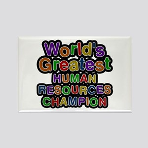World's Greatest HUMAN RESOURCES CHAMPION Rectangl