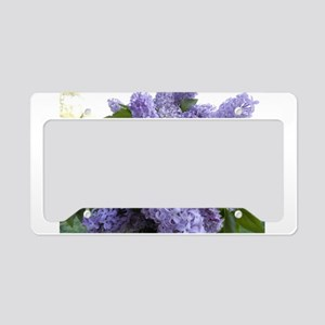 Lilac Lilac License Plate Holder