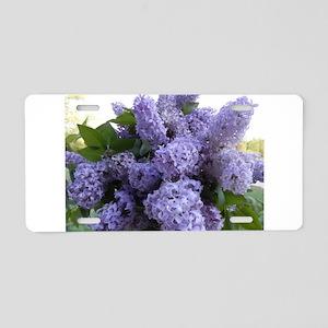 Lilac Lilac Aluminum License Plate