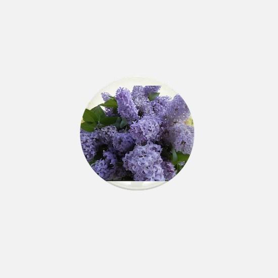Lilac Lilac Mini Button