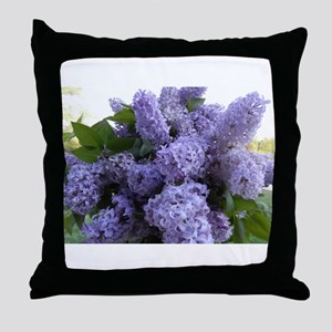 Lilac Lilac Throw Pillow