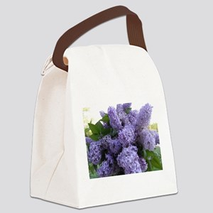 Lilac Lilac Canvas Lunch Bag