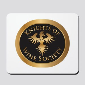 Knights of Wine Society Mousepad