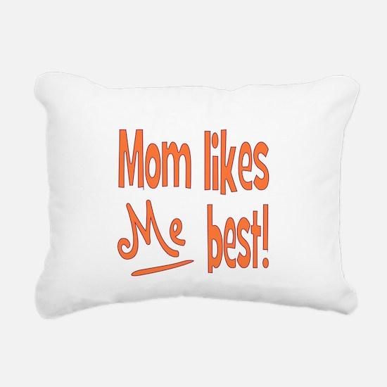 mombest.png Rectangular Canvas Pillow