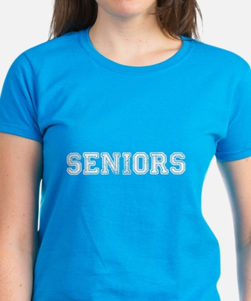Seniors High School Women's Dark T-Shirt