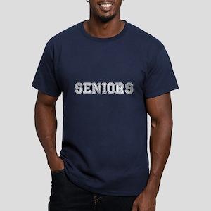 Seniors High School Men's Fitted T-Shirt (dark)