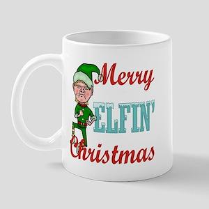 Funny Elfin Christmas Mug