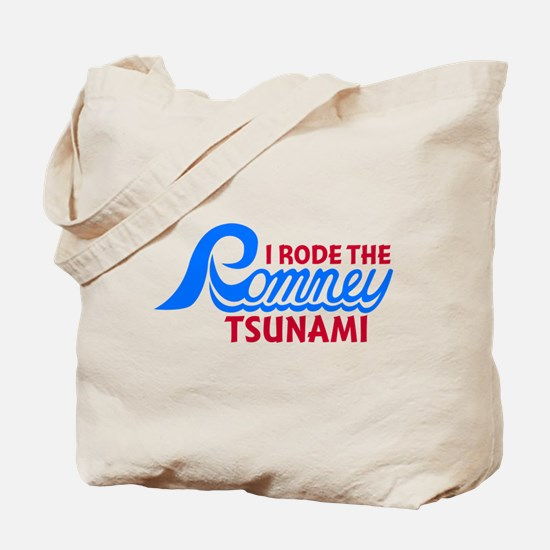 I Rode the Romney Tsunami Tote Bag