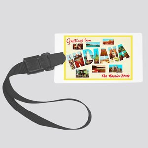 Indiana Greetings Large Luggage Tag