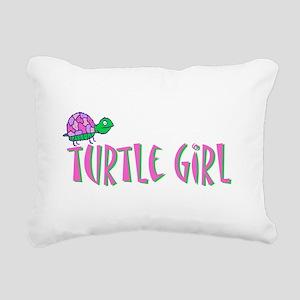 turtlegirl Rectangular Canvas Pillow