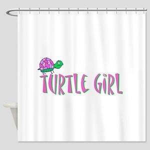 turtlegirl Shower Curtain
