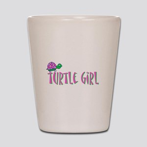 turtlegirl Shot Glass