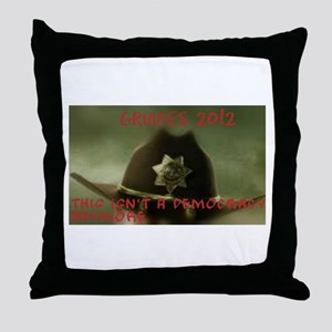 Ricktatorships Throw Pillow