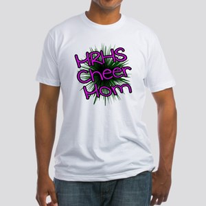 MRHS Cheer Mom Fitted T-Shirt