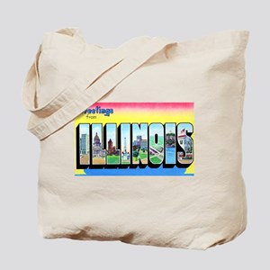 Illinois Greetings Tote Bag