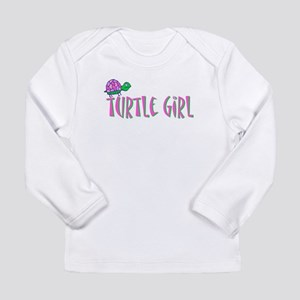 turtlegirl Long Sleeve Infant T-Shirt