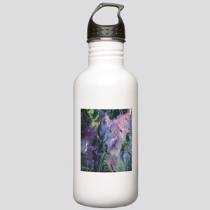 Wisteria Abstract Water Bottle