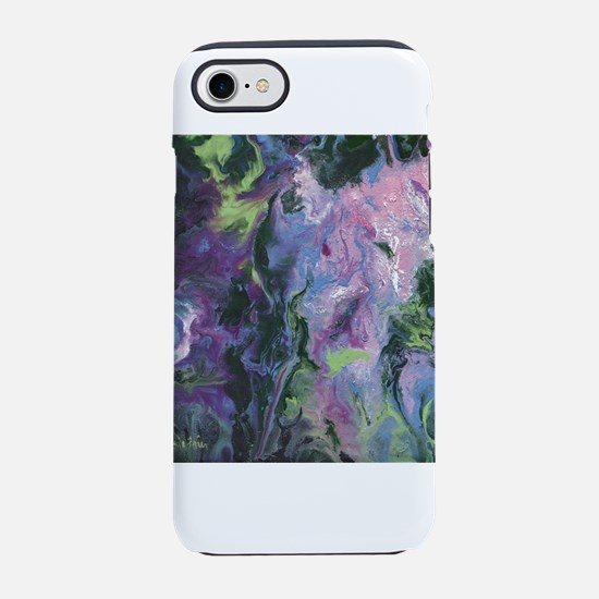 Wisteria Abstract iPhone 7 Tough Case