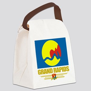 Grand Rapids (Flag 10) Canvas Lunch Bag