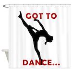 Dance Shower Curtain