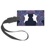 Patriot Twins Large Luggage Tag