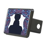 Patriot Twins Rectangular Hitch Cover