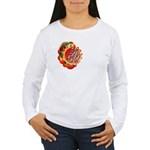SA5K retro beach Women's Long Sleeve T-Shirt