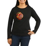 SA5K retro beach Women's Long Sleeve Dark T-Shirt