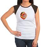SA5K retro beach Women's Cap Sleeve T-Shirt