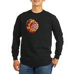 SA5K retro beach Long Sleeve Dark T-Shirt