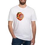 SA5K retro beach Fitted T-Shirt