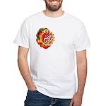 SA5K retro beach White T-Shirt