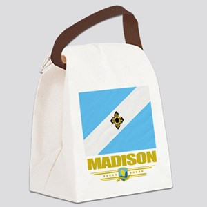 Madison (Flag 10) Canvas Lunch Bag