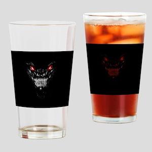 Black Dragon Drinking Glass