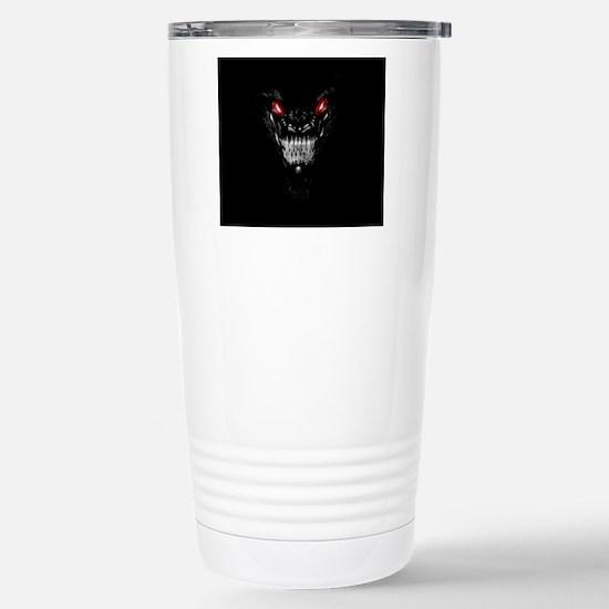 Black Dragon Stainless Steel Travel Mug