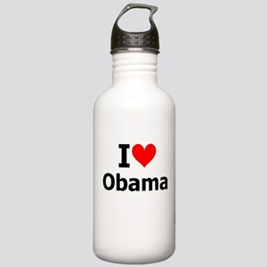 I Heart Obama Stainless Water Bottle 1.0L